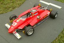 Ferrari 126 C2 turbo / Papírový model 1 : 6