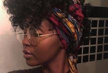 Natural hair headwraps