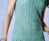 Patrones para vestidos de ganchillo