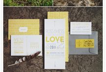 Wedding Invitation Inspiration / by Candid Apple Photography & Design