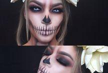 Halloweenske líčenie