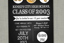 Tech 07 reunion / 10 year high school reunion plans  / by Katie C