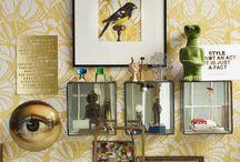 C U R I O S I T I E S / Ambiance cabinet de curiosités - Curiosities Cabinet Inspirations | #cabinet #curiosités #curiosities #taxidermie #taxidermy #décoration #decor