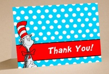 dr seuss party ideas / by Jamie Paquin