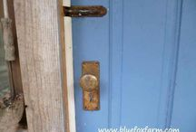 Rustic Furniture Upcycling / Refinishing a thrift store find, or just blinging some long ignored piece in your home; funky and rustic hardware, a coat of paint and you have an opportunity to give yourself a whole new favorite or two... / by Drought Smart Plants