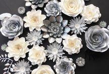 обємні квіти