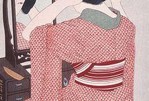 japanese art/ ukiyo-e       浮世絵