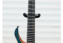 Guitars / Fotos von Gitarren, unseren Proben und Auftritten