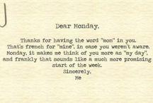 Monday Cheese / To get you through :)