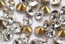 """Pointback Rhinestones / Our pointback rhinestones are great for setting into jewelry or any other projects that call for the realistic """"diamond"""" look. Due to their increased depth, they are even more sparkly than the flatback stones, and are sure to make an impact in any setting. http://sparklesrhinestones.com/rhinestones/pointback-rhinestones.html"""