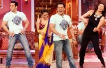 Jai ho movie promotions with kapil / by Wishesh