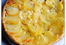 tarte tatin pommes de terre conte
