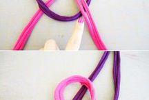 knots of jersey meteriaal