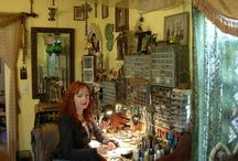 Jewelry Studios / Fun to see the spaces where other jewelry artists work.  / by Denise Ann Brown