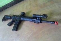 SR-16 Custom / this is an airsoftgun . not real gun :P