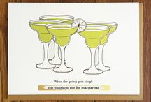 DRINK-themed cards! :) / Pull a stool up to Scratch Off Greetings virtual bar ;)