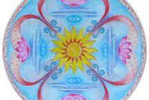 Мандала / Рисую индивидуальные мандалы для раскрытия внутреннего потенциала.