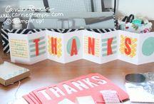 Paper pumpkin February 2015 Layers of Gratitude