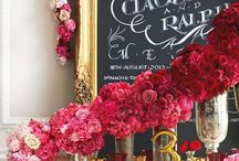 Radiant Reds | Haute Color / by A Good Affair Wedding & Event Production