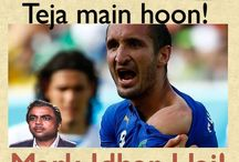 BeeKar Humour / Funny jokes related to football fans and football players playing in the fifa world cup 2014