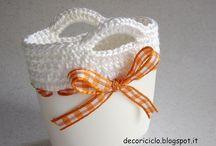 riciclo plastica più crochet