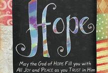 Faithful Words / Bible Verses, encouragement, hope, faith and LOVE! Jesus's love!