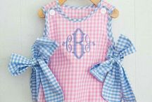 Baby Girls' Outfits and Sets / I love to find precious baby girls' outfits and sets in classic and traditional styling.  Also we like to include vintage styles and preppy or monogrammed styles too.