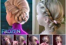 Flowergirls hair