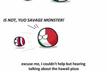 OMFGball / lot of countryballs