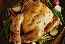 Herb chicken and vegetables