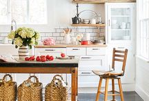 Our Farmhouse Kitchen / Ideas for renovating our early 1900's farmhouse kitchen. / by Julie Campbell