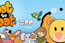 Dot to Dot Zoo Edition / The first mobile application released by RouxBee.