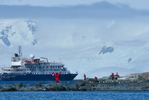 Antarctic Vessels / The vessels that take you on Antarctic waters