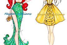 desenhos de modas