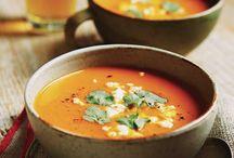 Soupes d'automne / Des soupes savoureuses parfaites pour le temps froid qui s'installe.  / by Magazine Châtelaine