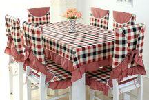 Sandalye mutfak örtüsü