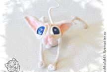 Cat Sphynx crochet pattern projects LittleOwlsHut Amigurumi / by LittleOwlsHut
