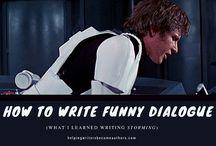 Writing dialogues
