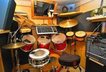 drummen / geluidloze ruimte in kelder maken om te drummen