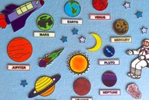 Solar system busy book