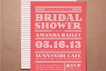 bridal shower / by Alexis Finc