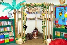 Book corner fun / by Michelle Sparkes