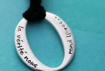 Hand Stamped / Our Hand Stamped Jewellery available at mrsfickle.com