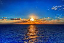Zachód Słońca nad Bałtykiem :) / Widoki pięknych zachodów słońca nad polskim morzem. Bałtyk ma najpiękniejsze plaże a i zachody słońca nad naszym pięknym morzem nie ustępują tym nad Atlantykiem.