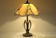 Lampy witrażowe - Stained Glass Lamps / Stained Glass Lamps made of Tiffany technique. Lampy witrażowe stojące i wiszące wykonane techniką Tiffany.  http://niebanalne-prezenty.pl/lampy-witrazowe