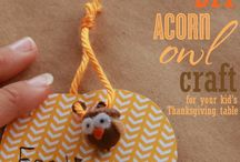 Things to do with acorns