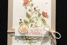 Flourishing phrases Stampin Up  catalogue2016-17
