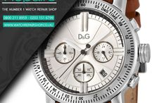 Dolce & Gabbana watch repairs