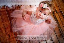 Toddler and Infant Flower Girl Dresses