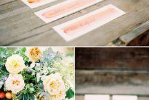 WATERCOLOR / wedding inspiration